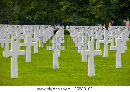 American Military Cemetery, Omaha Beach, Colleville-sur-mer