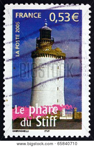 Postage Stamp France 2005 Lighthouse Of The Stiff