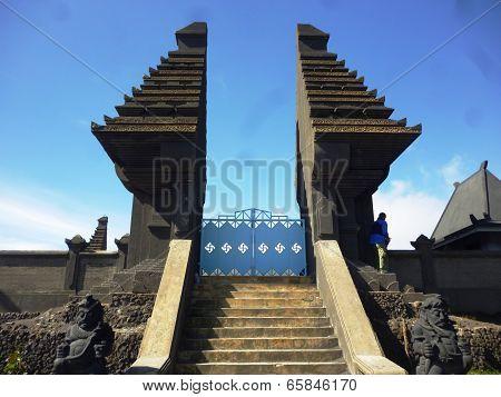 Mount Bromo gate