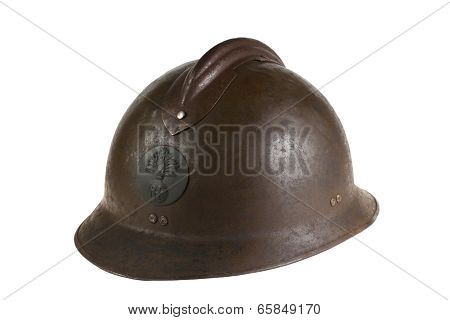 Ancient French Helmet