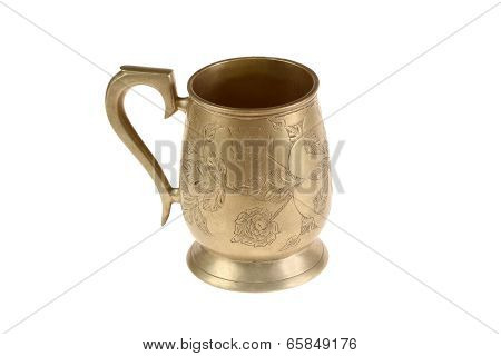 Ancient Bronze Mug