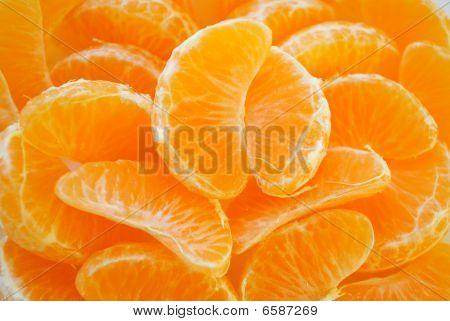 The Juicy Segments Of The Tangerine.