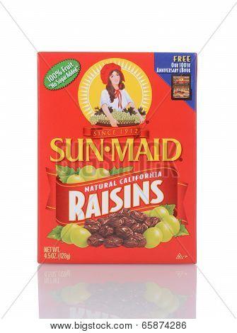 A Box Of Sun-maid Raisins