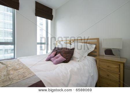 Detail Of A Modern Luxury Bedroom