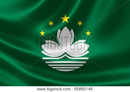 Flag Of Macau Special Administrative Region (sar)