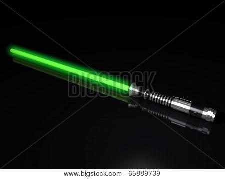 Green Light Sword 3D