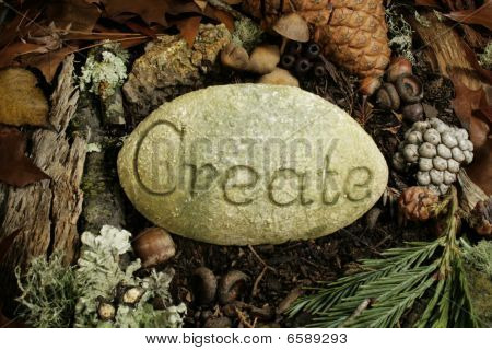 create etched in stone