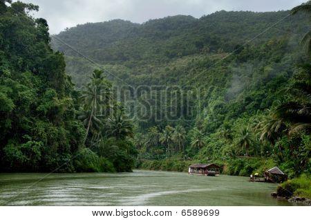 Tropical Jungle River