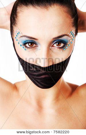 Beautiful Female Fashion Face