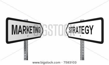 Marketing Strategy Arrows