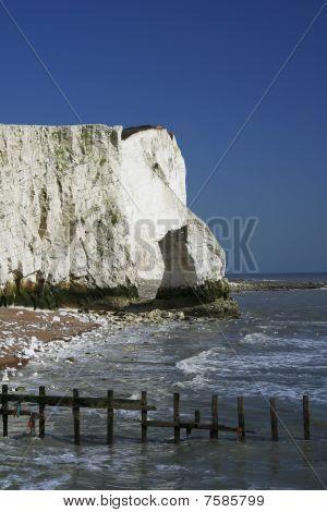 Chalk Cliffs Sussex Coast