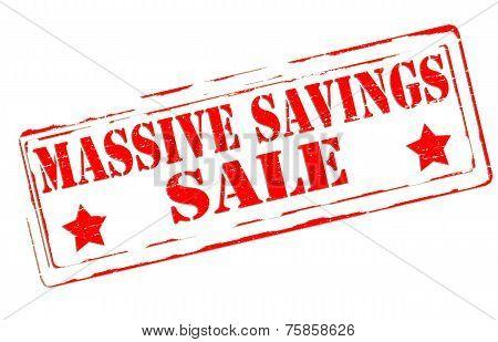 Massive Savings