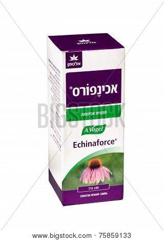 Carton Box Of Echinaforce 100Ml Bottle