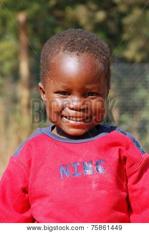 African Child ill with AIDS-Village of Pomerini -Tanzania Africa