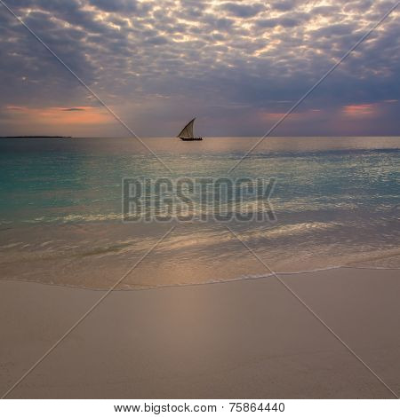 Sunset Nungwi