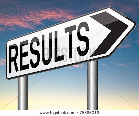 results and succeed business success elections pop poll or sports result test result business report election results