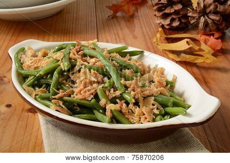 Green Bean And Onion Casserole