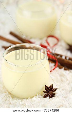 Glass Of Eggnog