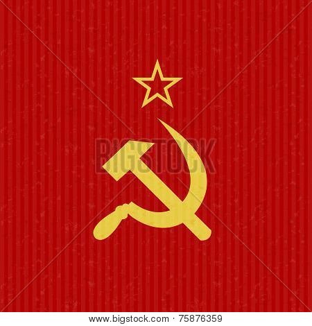 USSR Flag Symbol