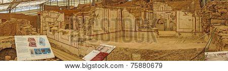 Painted Roman Frescoes
