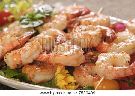 Shrimp Scallops Bruschetta