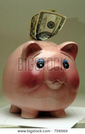 piggy bank clip