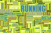 Running as a Endurance Fitness Hobby Sport poster
