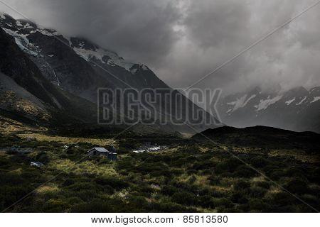 Hooker valley track, Aoraki national park