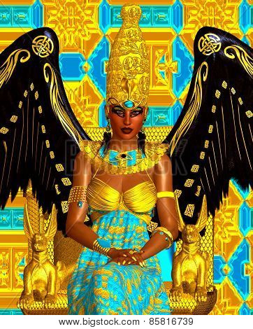 The Angel of Egypt.