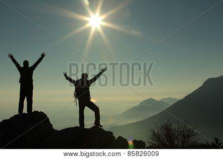 summit success silhouette