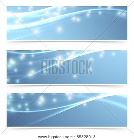 Bright modern swoosh speed sparkling flare line header footer web collection layout. Vector illustration poster