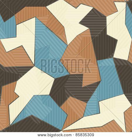 Retro Textile Seamless Pattern