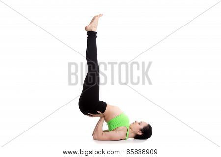 Upside-down Seal Yoga Pose