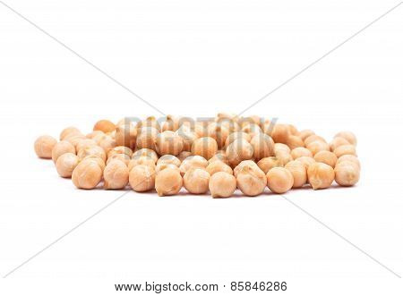 Garbanzos On White