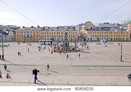 Helsinki. Finland. Senate Square