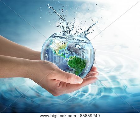 water conservation in the our planet, Usa