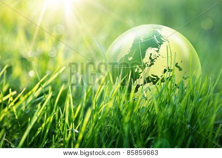 world environmental concept, Europe