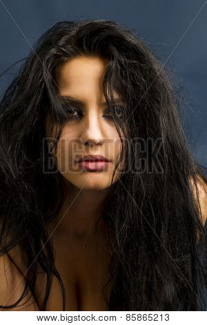 Yung Beautiful Brunette