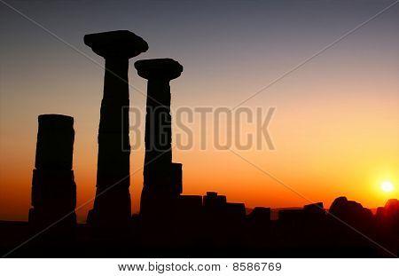 Tempel der Athene / Assos - Türkei