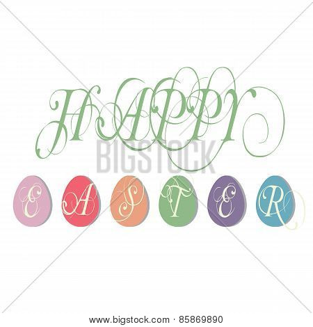 Easter Illustration Greetings Illustration