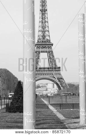 Paris Peace Wall