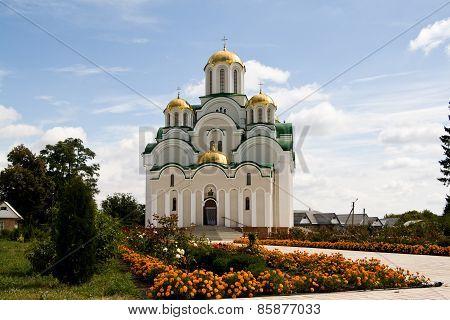 Skeet, Krasnohirskyy Monastery, Town Zolotonosha, Cherkasy Region, Ukraine