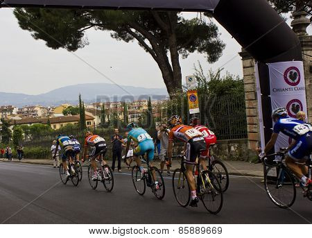 Uci Road World Championships. Toscana 2013.sports, Passion, Colours And Sound Mixed Together In The