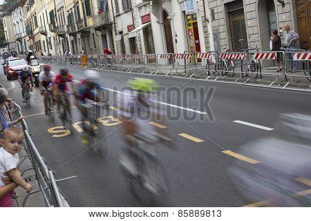 Cyclists passage at UCI Road World Championships