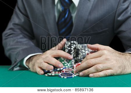 Blackjack Winner,a Solid Businessman, Won In Blackjack Game