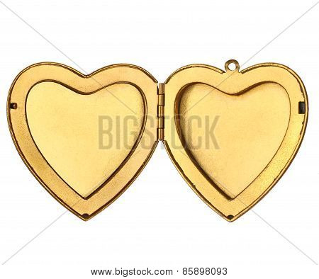 Picture Frame - Open Heart Locket