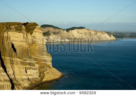 Cape Kidnappers cliff face