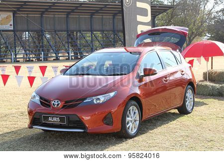 Toyota Vehicle Display At Festival South Africa