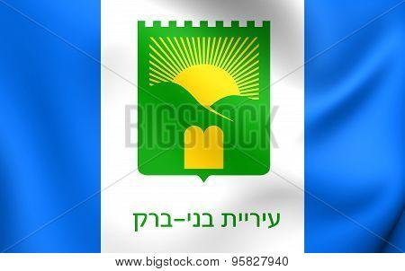 Flag Of Bnei Brak, Israel.
