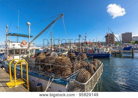 Hobart Lobster traps